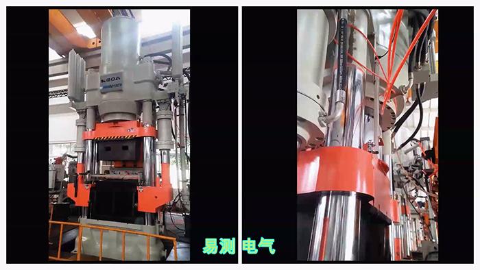 磁致伸缩位移传感器在压力机合模应用